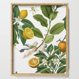 Lemony Serving Tray