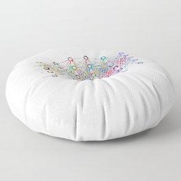 Neural Network Floor Pillow