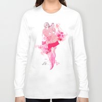lily Long Sleeve T-shirts featuring Lily by Anne Cresci