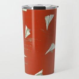 Christmas Red Airplane Mode Travel Mug