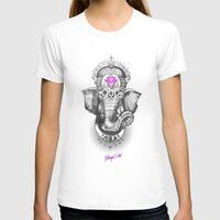ganesha T-shirts featuring Ganesha by Morgan Soto