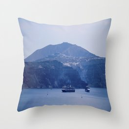 Santorini, Greece 8 Throw Pillow