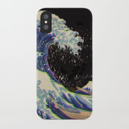 The Great Vaporwave iPhone Case