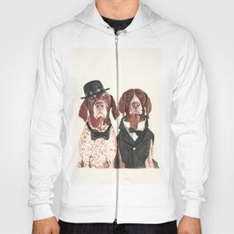 german short hair pointers - F.I.P. @ifitwags (The pointer brothers) Hoody