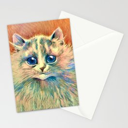 Big Happy Cat - Louis Wain Cats Stationery Cards