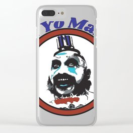 YoMamma Clear iPhone Case