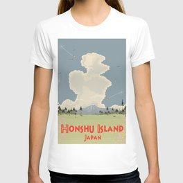 Honshu Island, Japan T-shirt