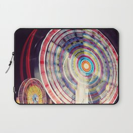 Blur of the Carnival Laptop Sleeve