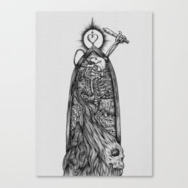 The Allegory of the Cave Canvas Print