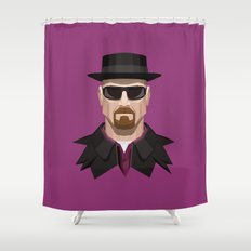 Breaking Bad - Heisenberg Shower Curtain