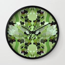 Rainforest Eye Wall Clock
