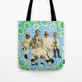 Playing With Soap Bubbles Tote Bag