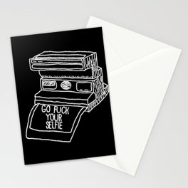 Go Fuck Your Selife Stationery Cards