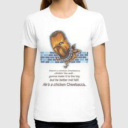 Chicken Chewbacca T-shirt