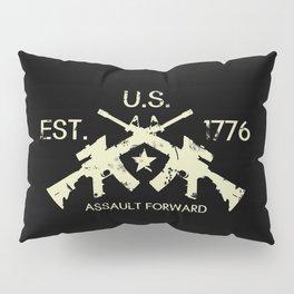 M4 Assault Rifles - U.S. Est. 1776 Pillow Sham