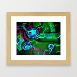 Brain Scam Framed Art Print