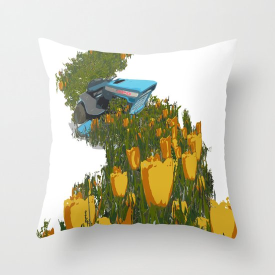 Kristene's Child Throw Pillow