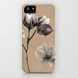 Cotton Blossom 2 iPhone Case