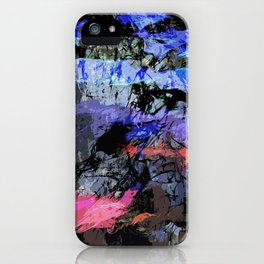 abstract 10,16 iPhone Case