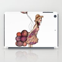 ballon iPad Cases featuring Le Ballon // Birthday III by annabours