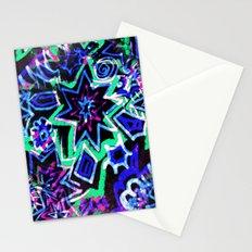 Pop Art Blues Stationery Cards