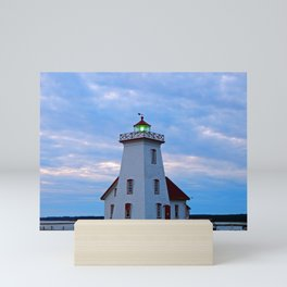 Wood Islands Lighthouse, The Green Lantern Mini Art Print