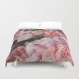 What In Carnations? Duvet Cover