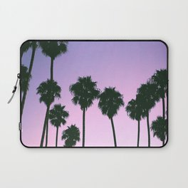 Palm Tree Purple Sunset Laptop Sleeve