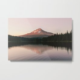Summer mountain nights Metal Print