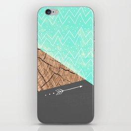 color-block v.1 iPhone Skin