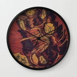 Flattened Wall Clock
