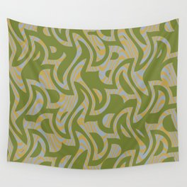 Abstract 123 F Wall Tapestry