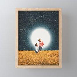 You are my Star Framed Mini Art Print