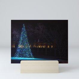 Longwood Gardens Christmas Series 123 Mini Art Print