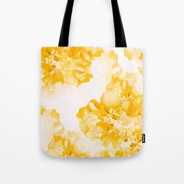 Beautiful Peony Flowers White Background #decor #society6 #buyart Tote Bag