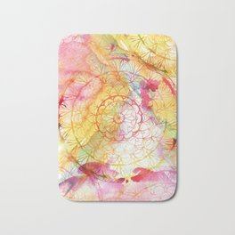 Mandala Water Color II Bath Mat