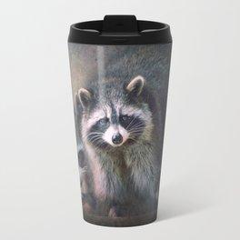 The two Raccoons.. Travel Mug