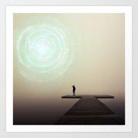 portal Art Prints featuring Portal by Jozi