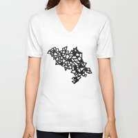 geo V-neck T-shirts featuring Geo by lizzy gray kitchens