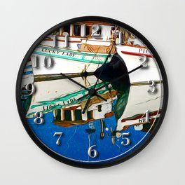 Pico and the Lucky Lady Wall Clock