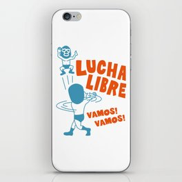 LUCHA LIBRE#29 iPhone Skin