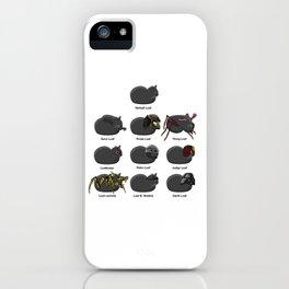 Sci-Fi Cat Loaves iPhone Case