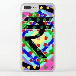 Fruit Machine 11 Clear iPhone Case