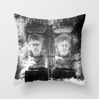 equality Throw Pillows featuring Equality by Sandy Broenimann