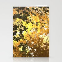 stay gold Stationery Cards featuring Stay Gold  by eelatham