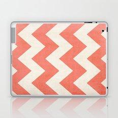 Vintage Coral Chevron Laptop & iPad Skin