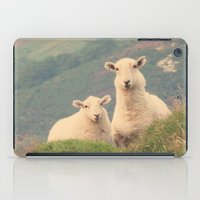 sheep iPad Cases featuring Sheep by Vic Torys