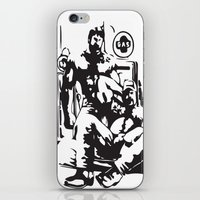 muscle iPhone & iPod Skins featuring Muscle Bears by Kawtastic