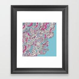 Flower Medley #2 Framed Art Print