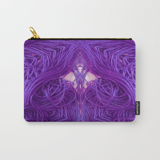 Purple Coils Carry-All Pouch